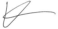 Kevin Burns' signature