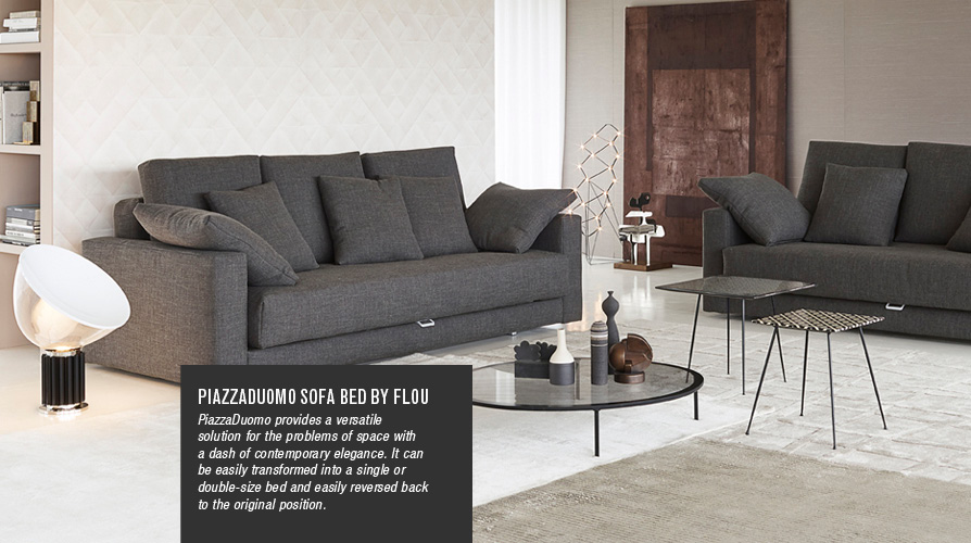 Piazza Duomo Sofa Bed by Flou