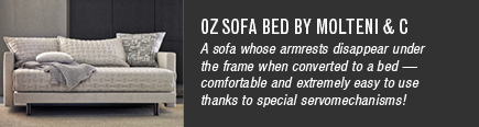 Oz Sofa Bed by Molteni & C