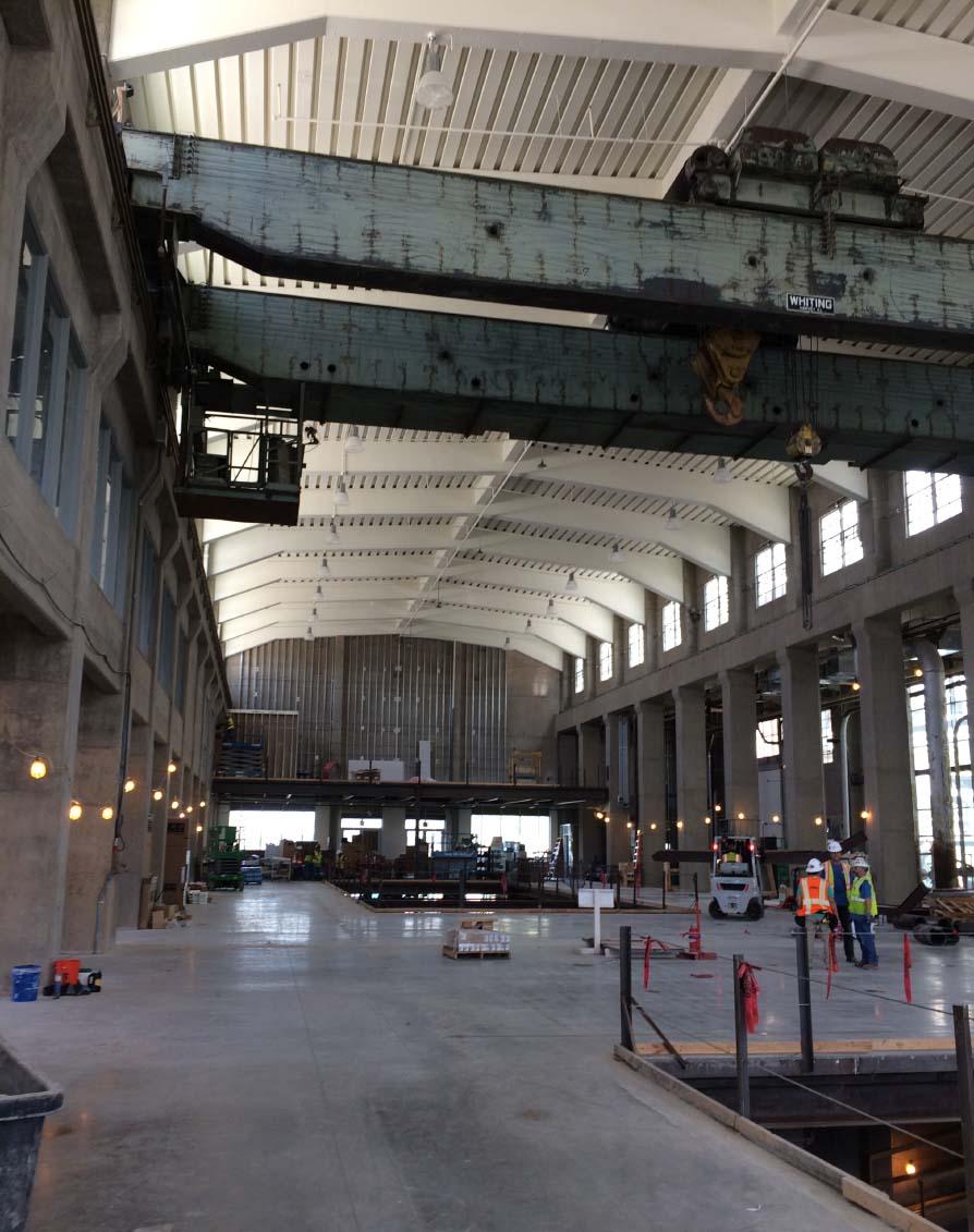 Interior of Power Plant